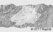 Gray Panoramic Map of Shuangjiang