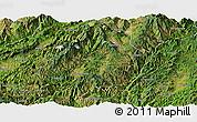 Satellite Panoramic Map of Shuangjiang