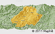 Savanna Style Panoramic Map of Shuangjiang