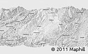 Silver Style Panoramic Map of Shuangjiang