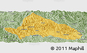 Savanna Style Panoramic Map of Simao