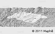 Gray Panoramic Map of Songming