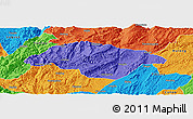 Political Panoramic Map of Songming
