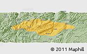 Savanna Style Panoramic Map of Songming