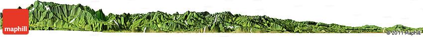 Satellite Horizon Map of Suijiang