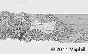 Gray Panoramic Map of Suijiang