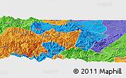 Political Panoramic Map of Suijiang