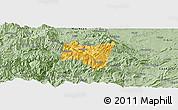 Savanna Style Panoramic Map of Suijiang