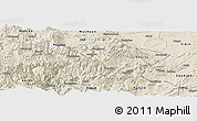 Shaded Relief Panoramic Map of Suijiang