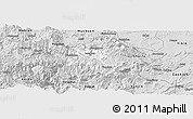 Silver Style Panoramic Map of Suijiang
