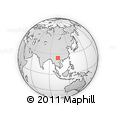 Outline Map of Tonghai