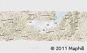 Classic Style Panoramic Map of Tonghai