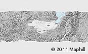 Gray Panoramic Map of Tonghai
