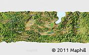 Satellite Panoramic Map of Tonghai