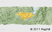 Savanna Style Panoramic Map of Tonghai