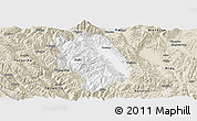 Classic Style Panoramic Map of Weishan