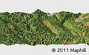 Satellite Panoramic Map of Weishan