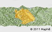 Savanna Style Panoramic Map of Weishan
