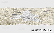 Classic Style Panoramic Map of Weixi