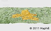 Savanna Style Panoramic Map of Weixi