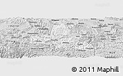 Silver Style Panoramic Map of Weixi