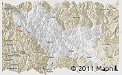 Classic Style Panoramic Map of Weixin