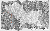 Gray Panoramic Map of Weixin