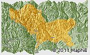 Savanna Style Panoramic Map of Weixin