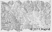 Silver Style Panoramic Map of Weixin