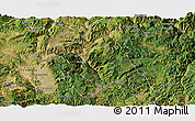 Satellite Panoramic Map of Wuding