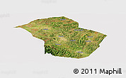 Satellite Panoramic Map of Wuenshan, cropped outside