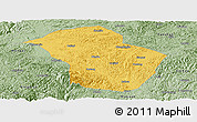 Savanna Style Panoramic Map of Wuenshan