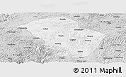 Silver Style Panoramic Map of Wuenshan