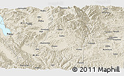 Shaded Relief Panoramic Map of Xiangyun