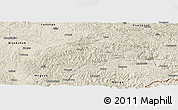 Shaded Relief Panoramic Map of Xichou