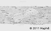 Silver Style Panoramic Map of Xichou