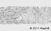 Silver Style Panoramic Map of Ximeng