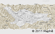 Classic Style Panoramic Map of Xinping
