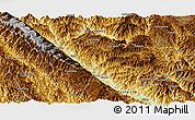 Physical Panoramic Map of Xinping