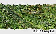 Satellite Panoramic Map of Xinping