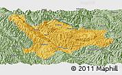 Savanna Style Panoramic Map of Xinping