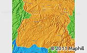 Political Map of Xuanwei