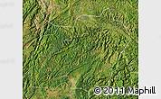 Satellite Map of Xuanwei