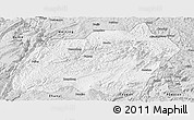 Silver Style Panoramic Map of Xuanwei