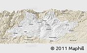 Classic Style Panoramic Map of Xundian