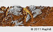 Physical Panoramic Map of Xundian