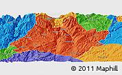 Political Panoramic Map of Xundian
