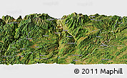 Satellite Panoramic Map of Xundian