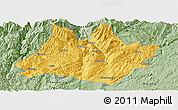 Savanna Style Panoramic Map of Xundian