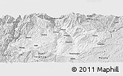 Silver Style Panoramic Map of Xundian